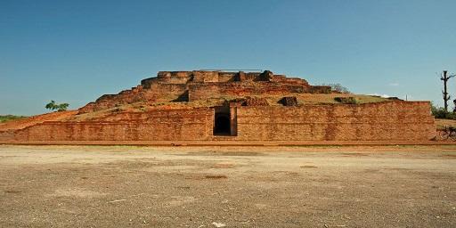 Monuments of Sravasti, Sahet - Mahet