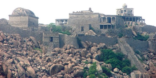 Rajagiri Fort and Krishnagiri Fort, Gingee